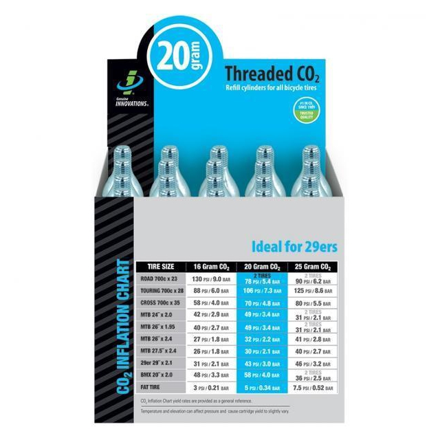 Genuine Innovations - CO2 Refill Cartridges (20-pack)