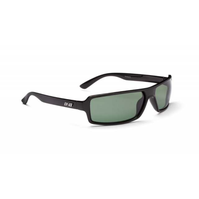 Optic Nerve - - Emergo Sunglasses - Shiny Black