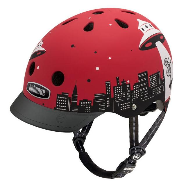 Nutcase - Alien Abduction Street Helmet