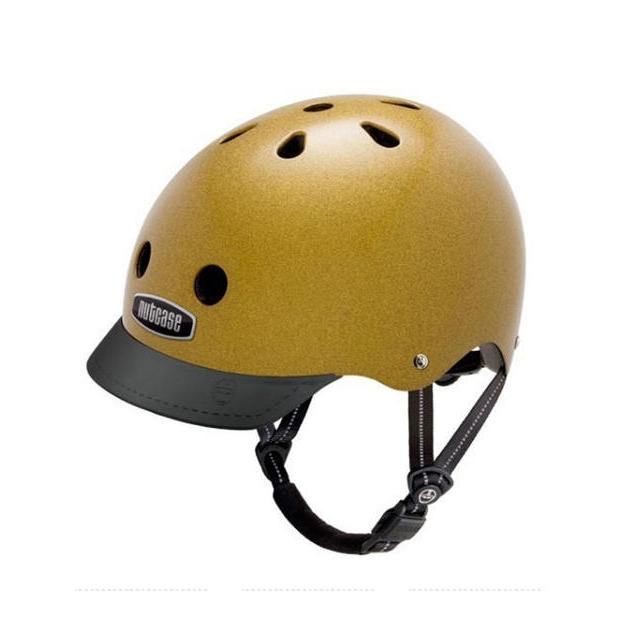Nutcase - Metallic Gold Street Helmet