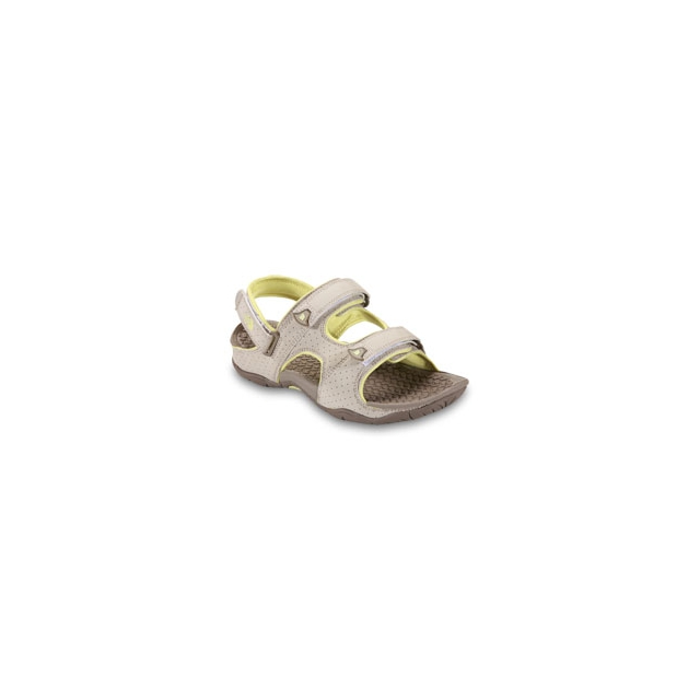 Campmor - The North Face El Rio II Sandal - Women's - Fossil Ivory/Chiffon Yellow In Size: 11