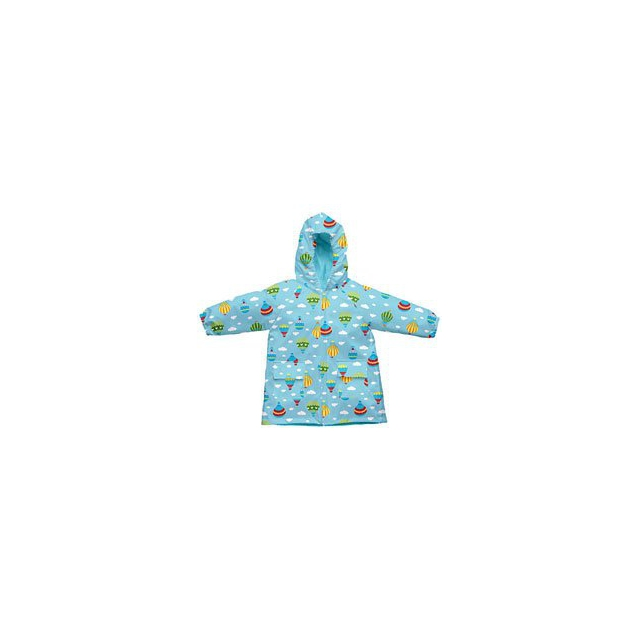 Campmor - Toddler Raincoat with Hood - Aqua In Size: Small