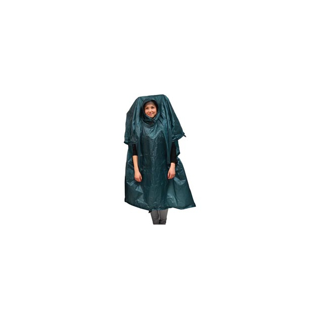 Campmor - Ultralite Extension Poncho/Tarp - Steel Blue