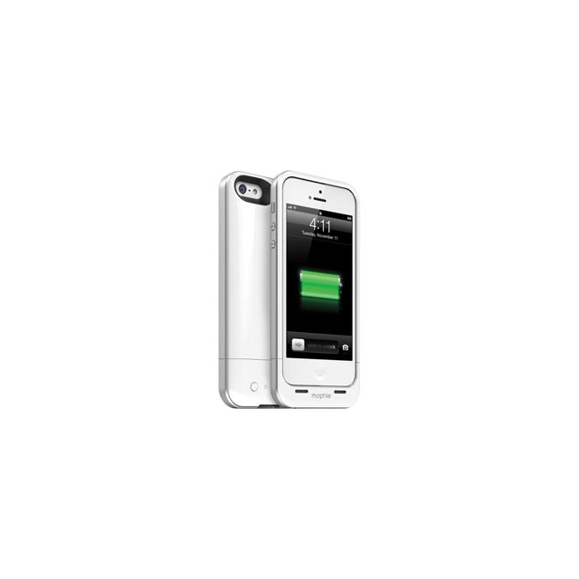Campmor - Mophie Juice Pack Air Battery Case for iPhone 5 and 5S - White