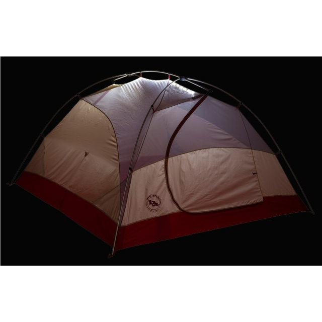 Big Agnes - Rocky Peak 4 Person MtnGLO Tent