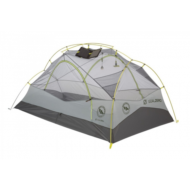 Big Agnes - Krumholtz UL2 Person mtnGLO with Goal Zero