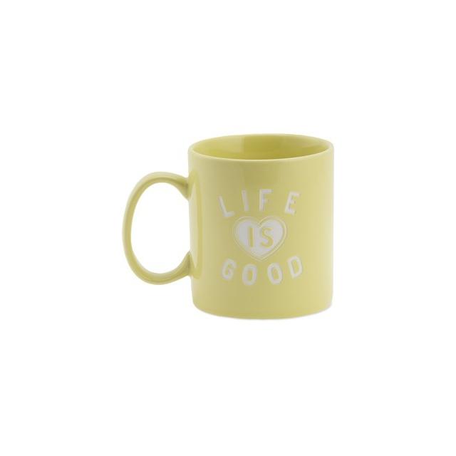 Life Is Good - Jake's Mug-Yellow-One Size