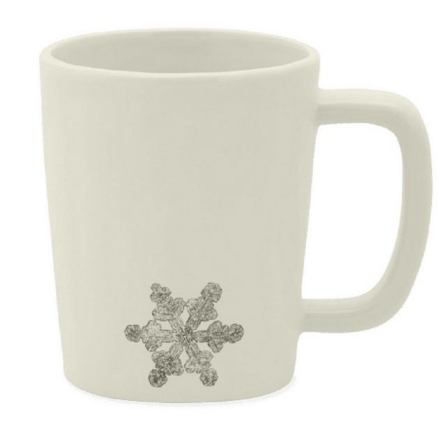 Life Is Good - Stay True Snowflake Artisan Mug