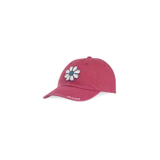 Life Is Good - Tattered Flower Chill Cap-RoseBerr-One Size