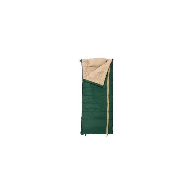 Slumberjack - Timberjack 40 Degree Rectangular Sleeping Bag - In Size: Regular Length/Right Side Zipper