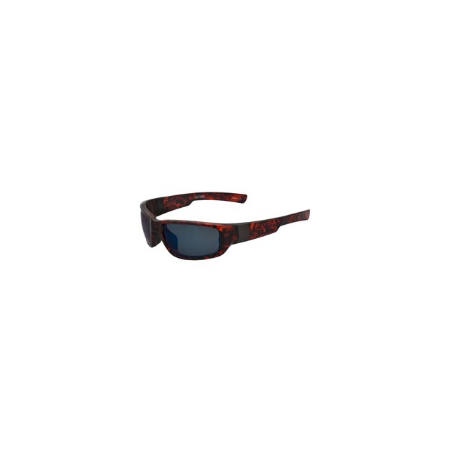 Switch Sunglasses - B7 Polarized and Mirrored Interchangeable Lens Sunglasses - Fire Tortoise/Grey polarized blue mirror