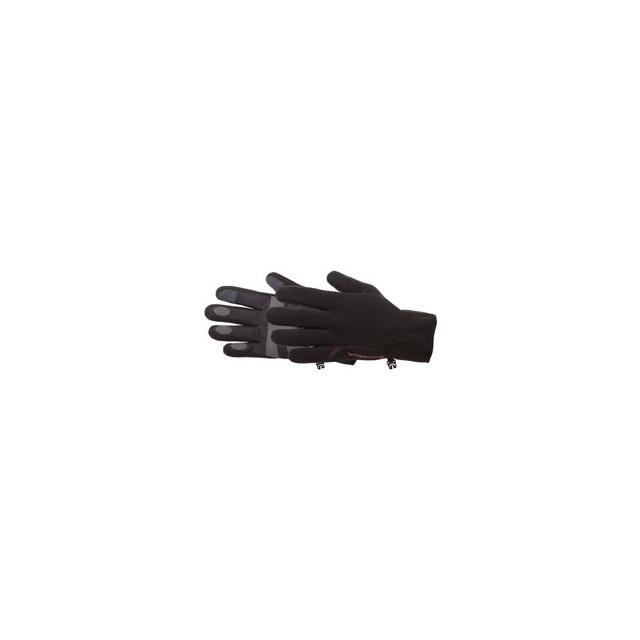 Manzella - Tempest Windstopper Touch Tip Fleece Gloves - Women's - Black In Size: Large