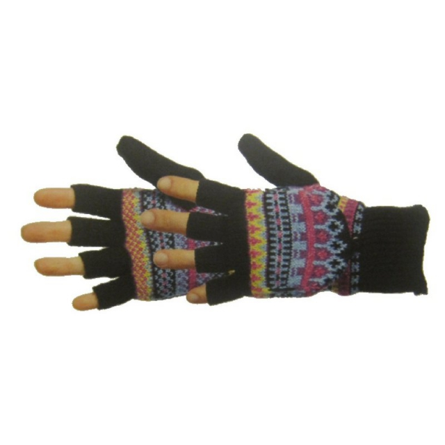 Manzella - Women's Fairisle Convertible Gloves