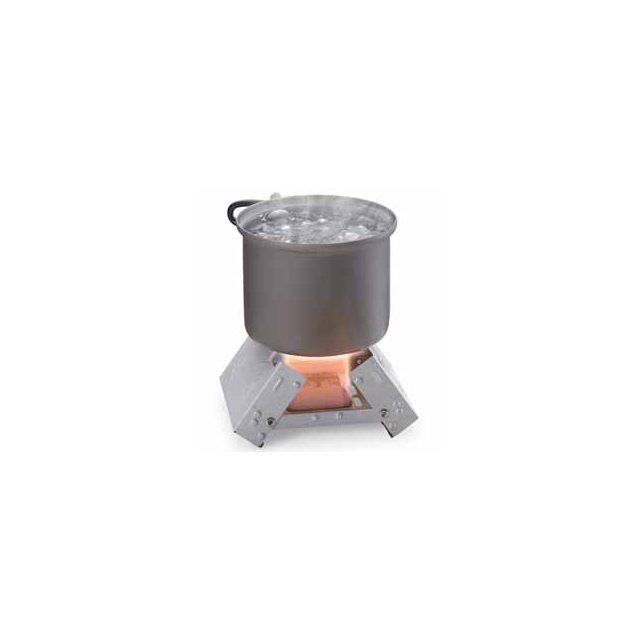 Industrial Revolution - Pocket Stove with 6 Solid Fuel Cubes