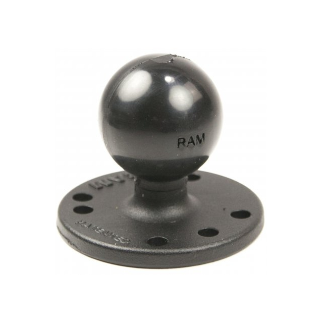 RAM Mount - RAM Round Base with 1.5 Inch Ball