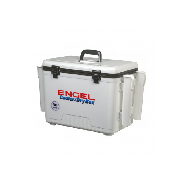 Engel - Engel Dry Box Cooler 30 with Rod Holders