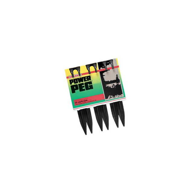 Reliance - Best Power Peg Plastic Stakes-9 inch Tent Stakes