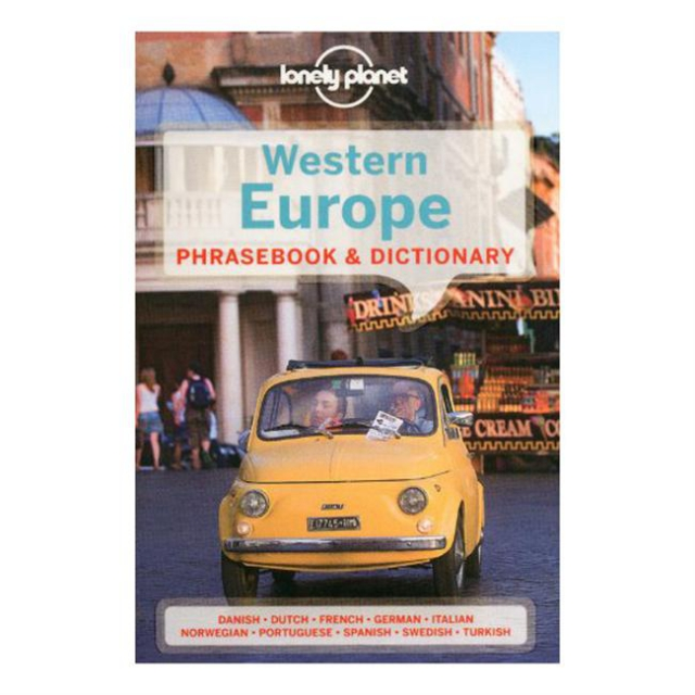 Lonely Planet - Western Europe Phrasebook