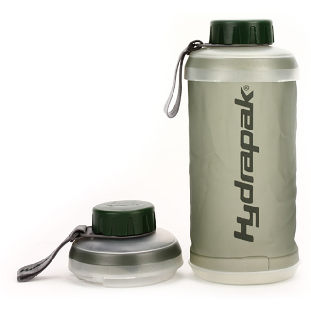 HYDRAPAK - Stash Collapsible Bottle 750 ml - Smoke 750 ML