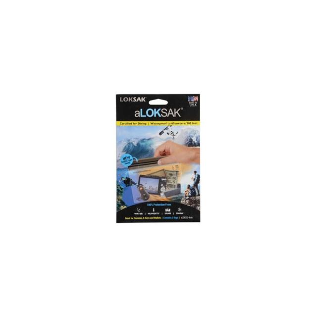 Aloksak - ALOKSAK 6.5 X 6 (2) Bags - Clear