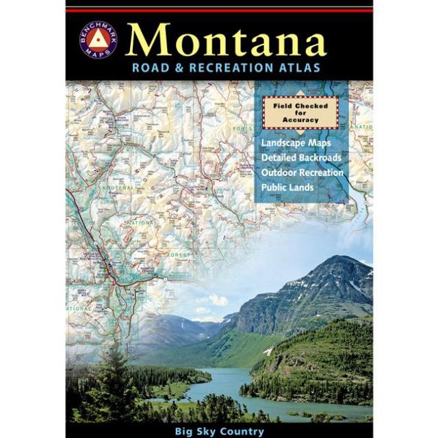 Benchmark Maps - Benchmark Road & Recreation Atlas: Montana