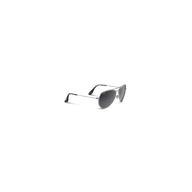 Maui Jim - Mavericks Sunglasses - Men's - Silver/Neutral Grey