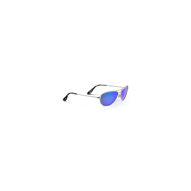 Maui Jim - Baby Beach Sunglasses - Men's - Silver/Blue Hawaii