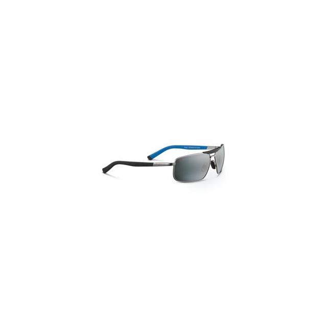 Maui Jim - Keanu Polarized Glass Sunglasses - Matte Silver/Neutral Grey