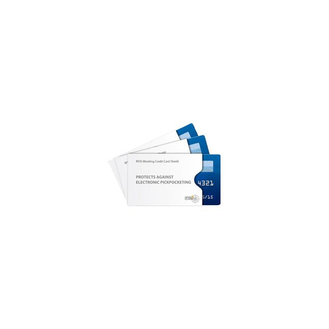 Lc Industries - RFID Credit Card Shield - 3 Pack - Clear In Size: 3 Pack