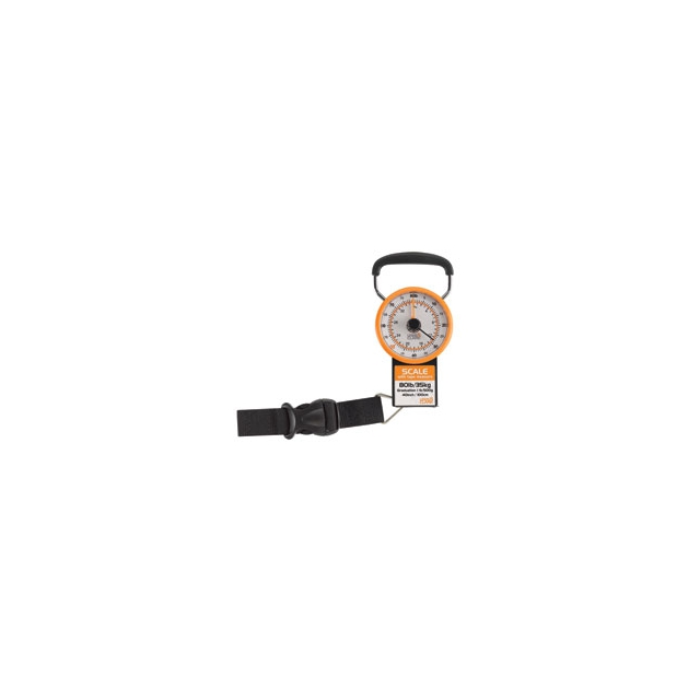 Lc Industries - Luggage Scale with Weight Marker - Orange