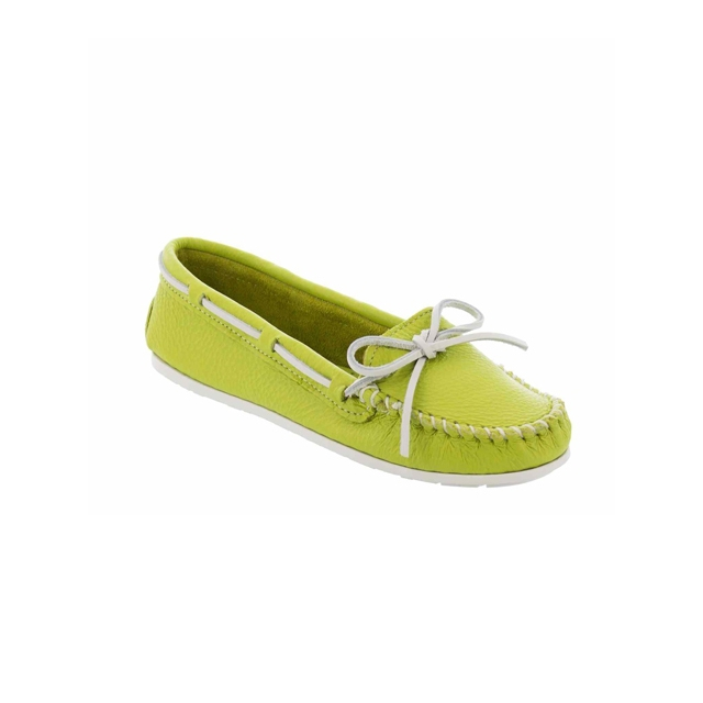 Minnetonka - - Boat Moc - SPCL14 - Lime Green