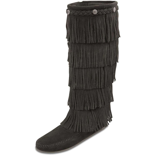 Minnetonka - Women's 5-Layer Fringe Boot