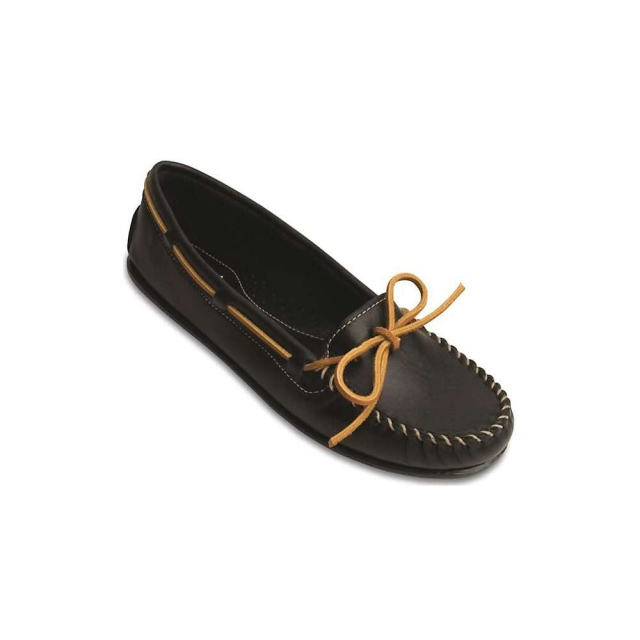 Minnetonka - Women's Smooth Leather Moc