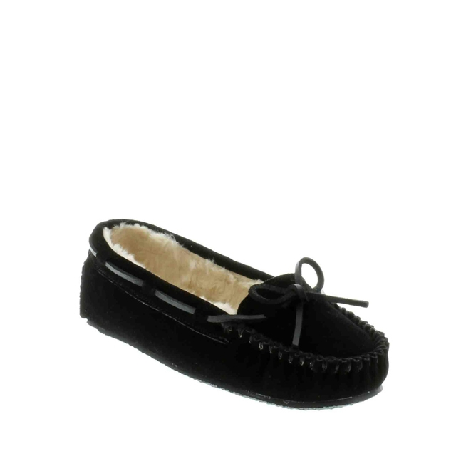 Minnetonka - - Cally Slipper Black
