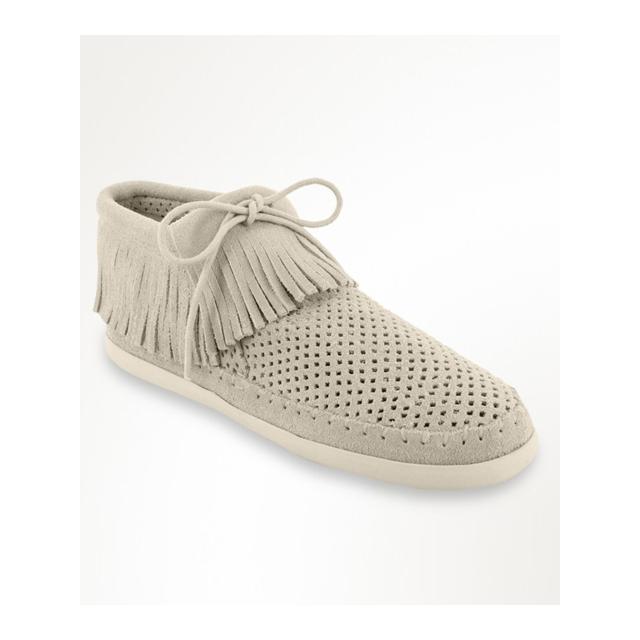 Minnetonka - - Fringe Boot Stone