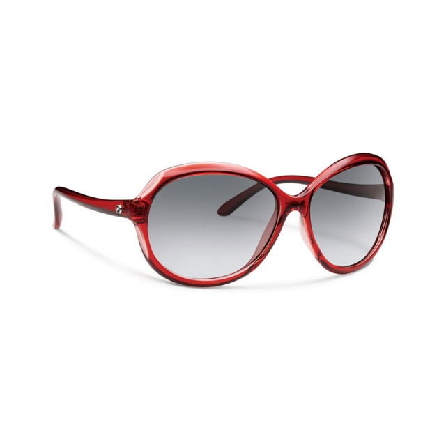 Forecast Optics - Dori - Gray Gradient Red Crystal