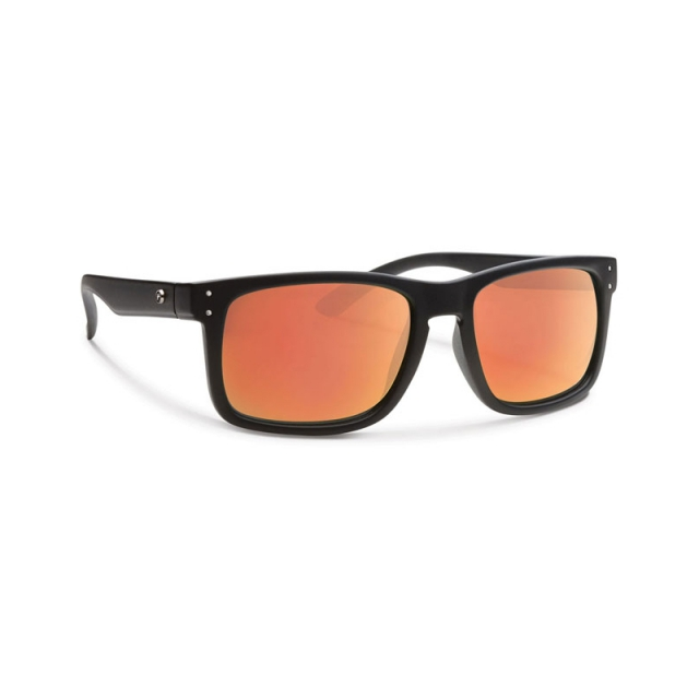 Forecast Optics - Clyde - Red Mirror Lens - Closeout Matte Black