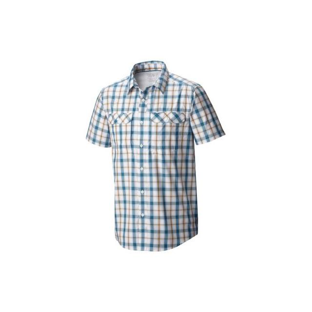 Mountain Hardwear - Men's Canyon Plaid Short Sleeve Shirt