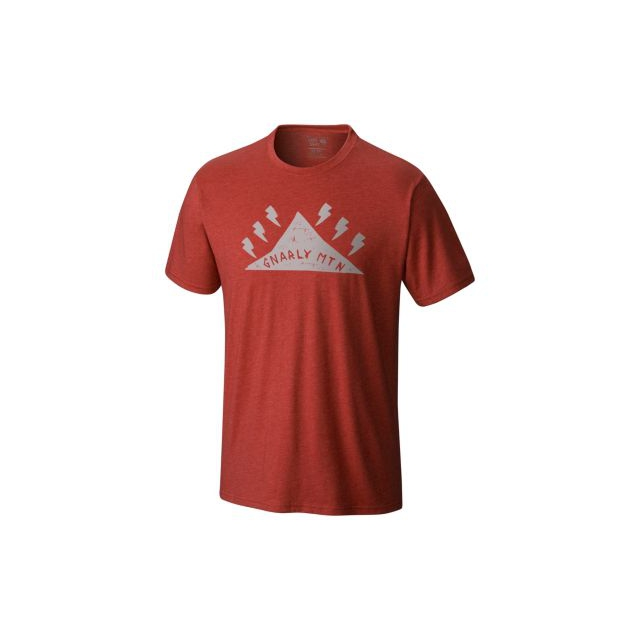 Mountain Hardwear - Men's Gnar Mountain Short Sleeve T