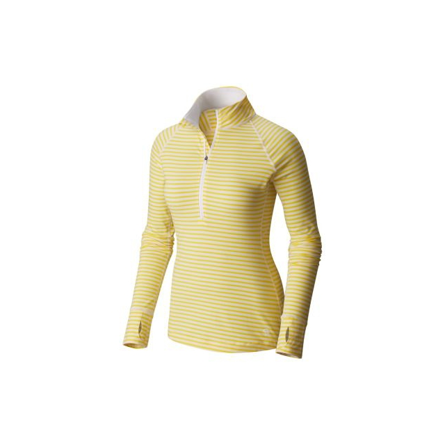 Mountain Hardwear - Butterlicious Stripe Long Sleeve 1/2 Zi