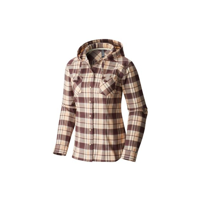Mountain Hardwear - Stretchstone Hooded Long Sleeve Shirt