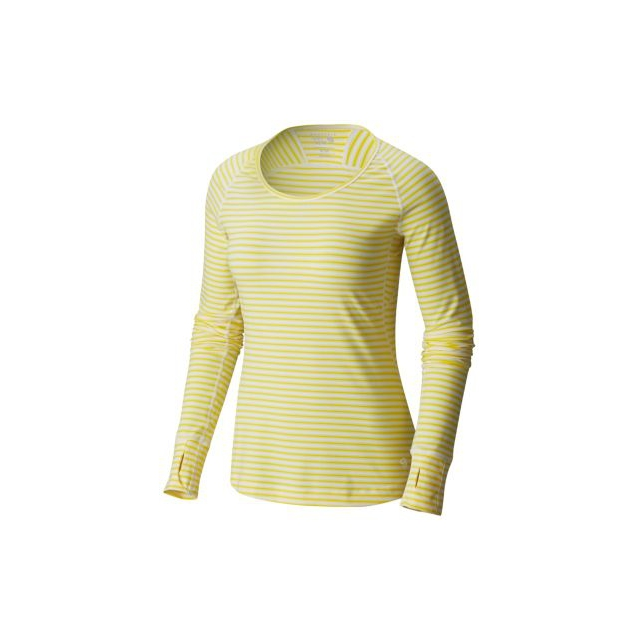 Mountain Hardwear - Butterlicious Stripe Long Sleeve Crew