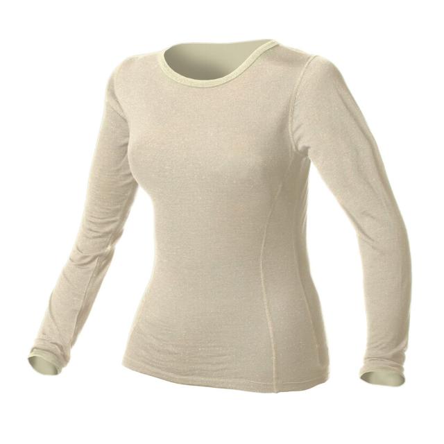 Minus 33 - - Crew Top Womens Wool Midweight - X-Large - Cream