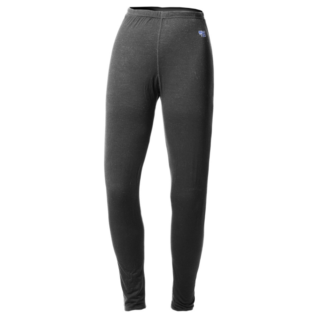 Minus 33 - - Wool Womens Bottoms Midweight - X-Small - Charcoal Grey Heather