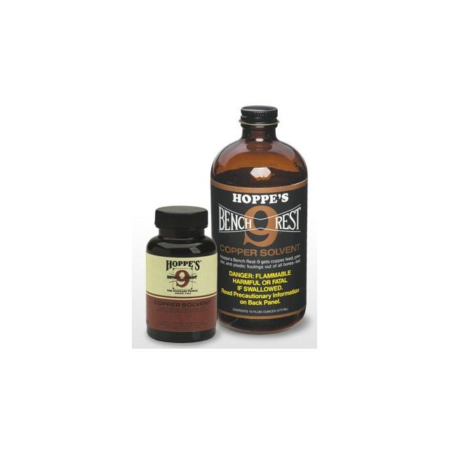 Hoppes - Bench Rest 9 Copper Solvent   5 oz. Bottle