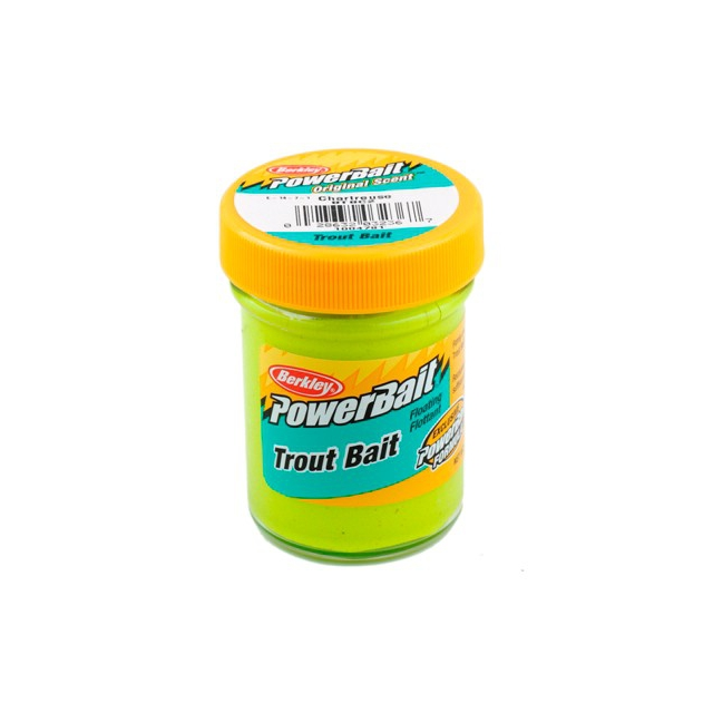 Berkley - Biodegradable Trout Bait   Green Pumpkin
