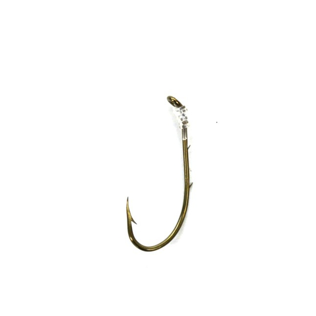 Eagle Claw® - Snelled Offset Baitholder Hook
