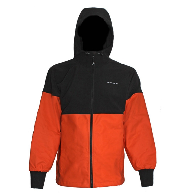 Grundéns - Men's Gage Ragnar Full Zip Black/Orange