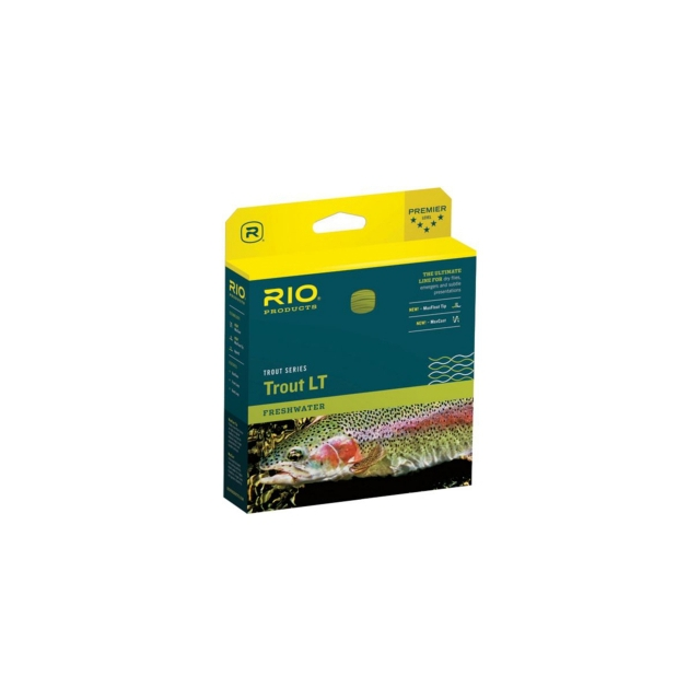 Rio Products® - Trout LT WF Floating Fly Line (Beige/Sage)
