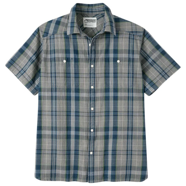 Mountain Khakis - Men's Ace Indigo Short Sleeve Shirt